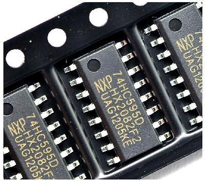 SN74HC595 сдвиговый регистр