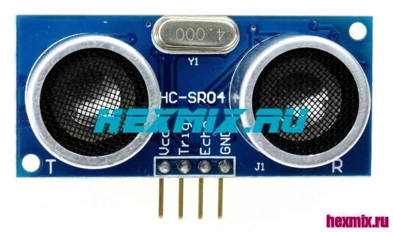 Ультразвуковой датчик измерения расстояния HC-SR04