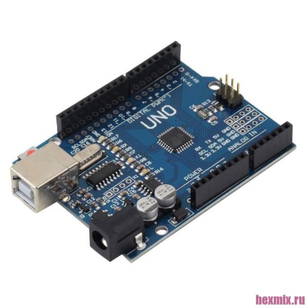 Arduino UNO R3 ATMEGA328 совместимая плата