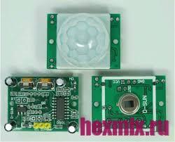 Инфракрасный датчик движения HC-SR501-GREEN