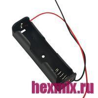 Батарейный отсек держатель 1ШТ 18650 с проводами