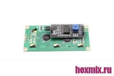 LCD 1602 i2C Дисплей символьный СИНИЙ