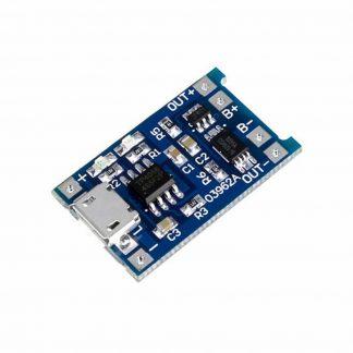 Контроллер заряда Li-ion аккумуляторов 03962A TP4056 Micro USB