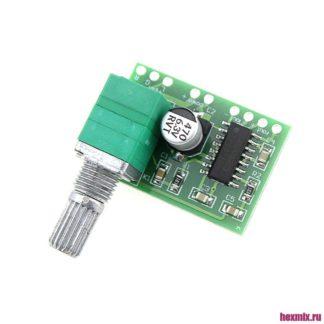PAM8403 Цифровой аудио усилитель 2x3 Вт с регулятором громкости