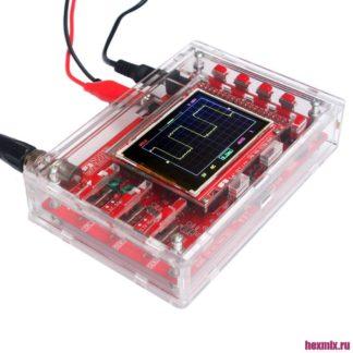 Цифровой осциллограф DSO138 в акриловом прозрачном корпусе