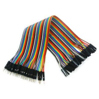 TK0838 Dupont плоский монтажный кабель 40-линий Папа-Мама