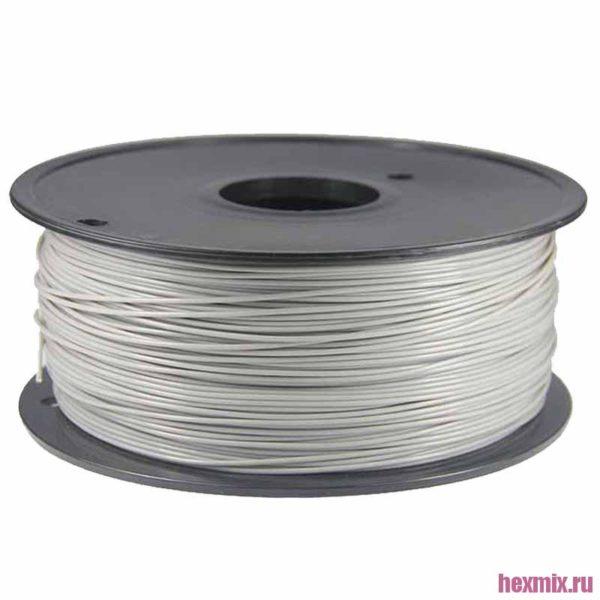 PLA пластик 1.75 мм серый