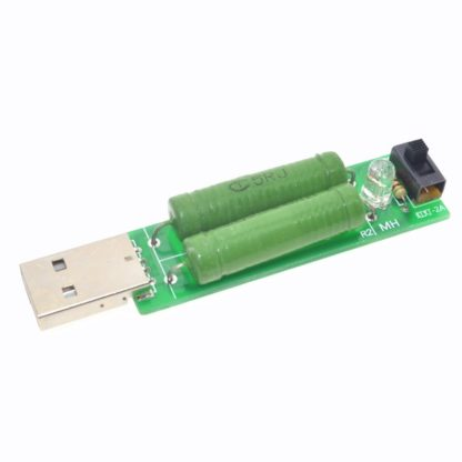 USB нагрузочный резистор с переключателем тока 1A/2A