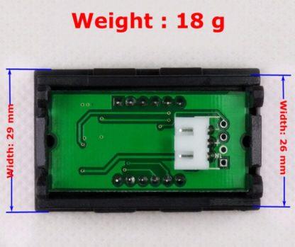 Цифровой вольтметр DC 0 -100 V