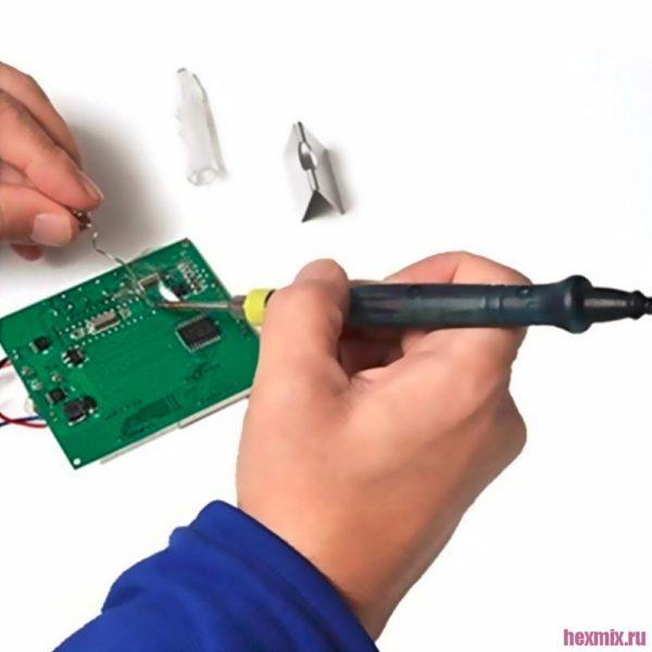 Портативный USB паяльник электрический