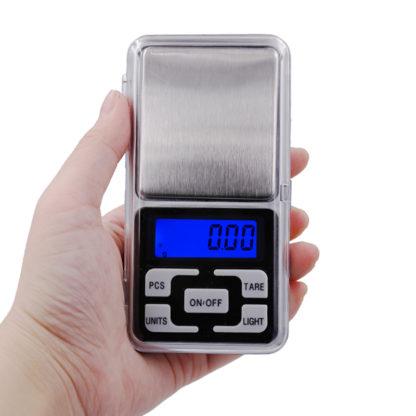Весы ювелирные электронные карманные 0,01 / 500 грамм