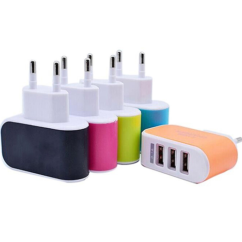 Зарядное устройство на 3 USB порта 5V / 3A