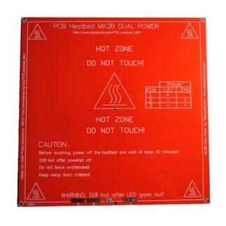 Нагреватель стола для 3D-принтера Heatbed MK2B