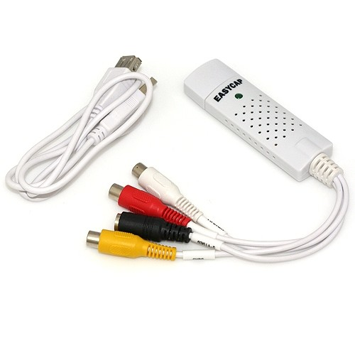 UVC USB 2.0 Устройство видеозахвата аналог Easycap USB 2.0