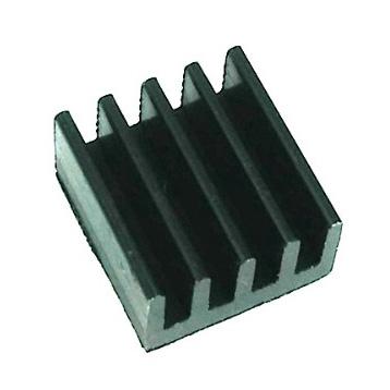 Радиатор алюминий 9x9x5мм черный