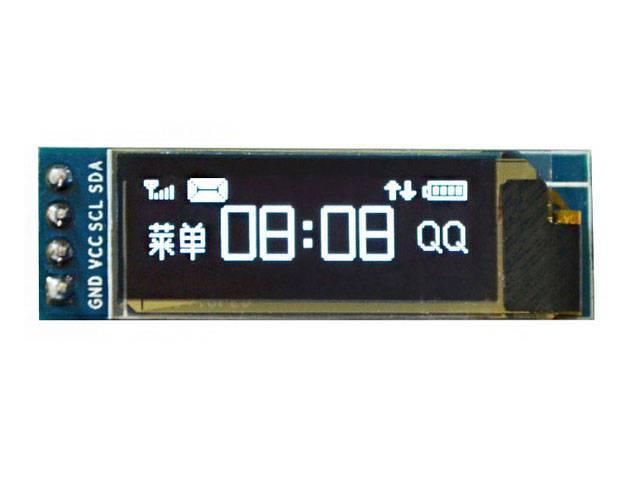 OLED I2C дисплей 0,91 128x32