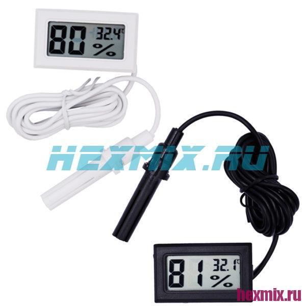 Измеритель температуры и влажности Mini с выносным датчиком