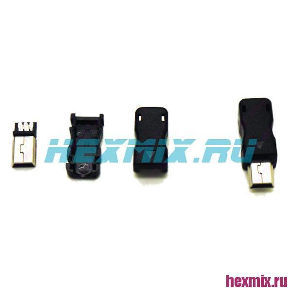 Mini-USB Разъем Папа