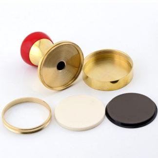 Металлическая оснастка для флэш печати ручная, 4 мм резина, полный комплект