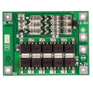 Bms 3S 40A 12.6В контроллер заряда Li-ion аккумуляторов