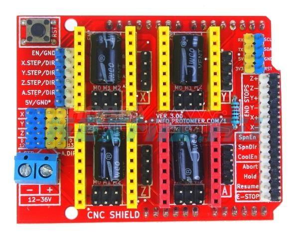 CNC Shield v3.0 - материнская плата для ЧПУ - станков