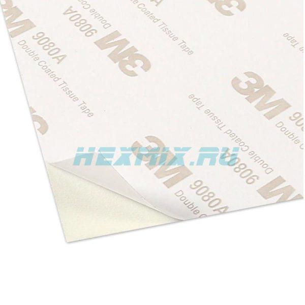 Полимерная адгезионная наклейка