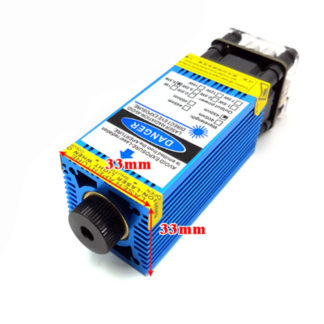 Лазерная головка 450nm 2.5W 12V синий лазер