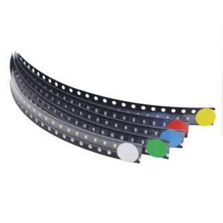 SMD Светодиод 0603 5цветов — 250 шт