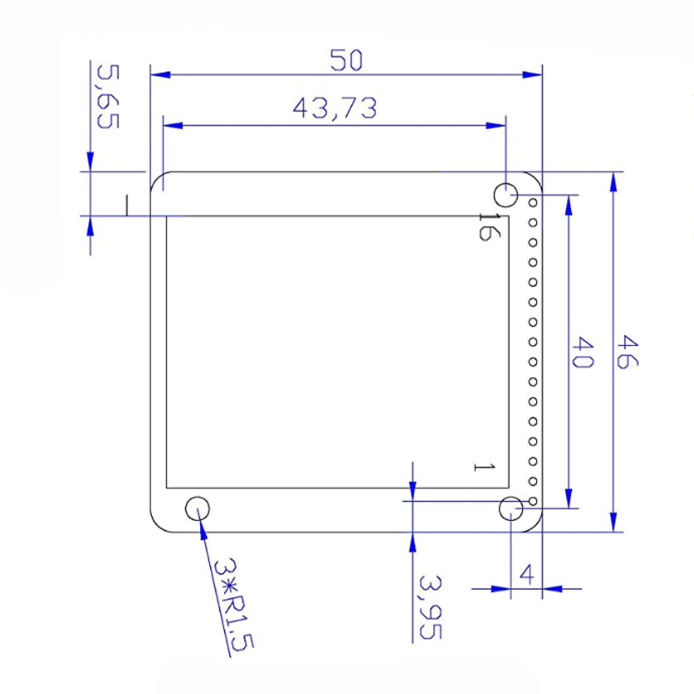 1.8' TFT ЖК-Дисплей KMR-1.8 SPI 128*160