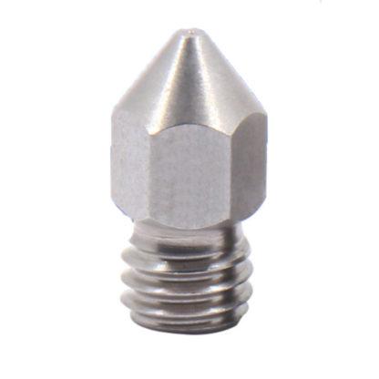 Сопло экструдера 0.1-1.0 мм под филамент 1.75 мм Сталь