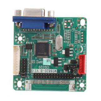 Универсальный LVDS скалер MT6820-b v2.0