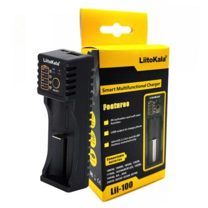 LiitoKala Lii-100 интеллектуальное зарядное устройство