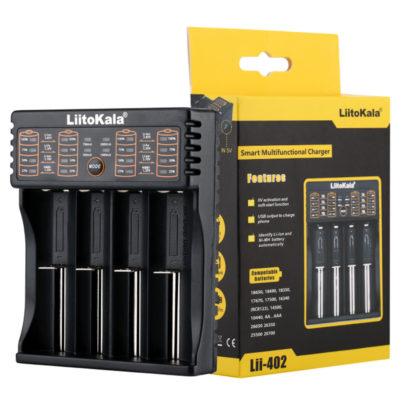 LiitoKala lii-402 интеллектуальное зарядное устройство