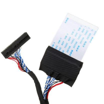 LVDS кабель правый 30pin 8-bit 1-ch FFC V260B1-L11