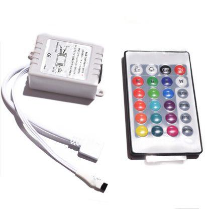 ИК Контроллер светодиодных RGB лент