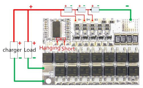 Bms 5S 34S 100A контроллер заряда Li-ion