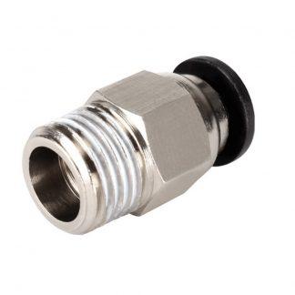 Фитинг PC4-M10 для фторопластовой боуден трубки под пластик 1,75мм