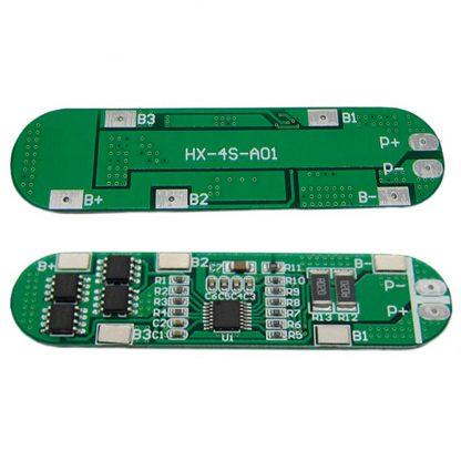 Bms 4S 6A 16.8В контроллер заряда Li-ion аккумуляторов HX-4S-A01